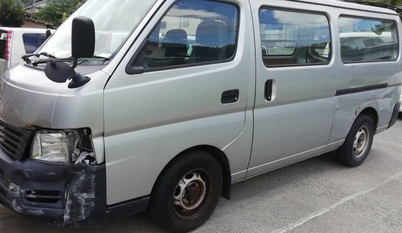 市川三郷町のお客様から廃車買取した日産キャラバン