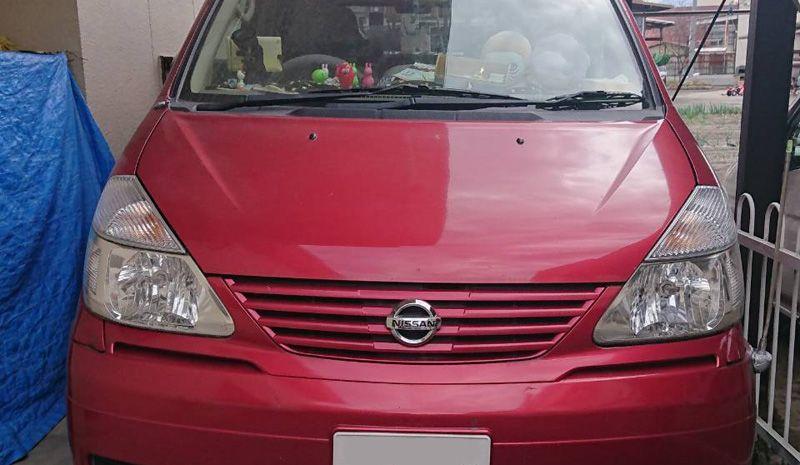 甲府市のお客様から廃車買取した日産 セレナ