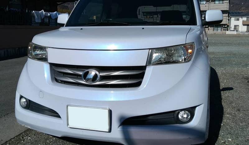 甲府市のお客様から廃車買取したトヨタbB