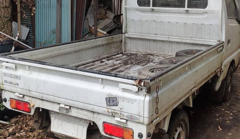 笛吹市のお客様から廃車買取したスズキキャリートラック