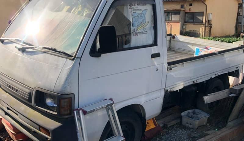 甲府市のお客様から廃車買取したダイハツ ハイゼット