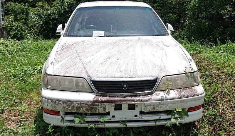 上野原市のお客様から廃車買取したトヨタマークⅡ