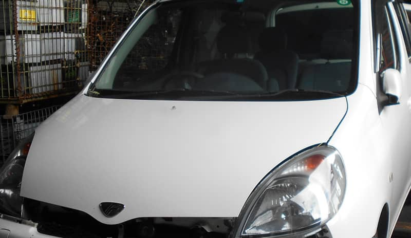 北杜市のお客様から廃車買取したトヨタファンカーゴ
