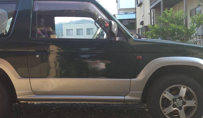 甲府市のお客様から廃車買取した三菱パジェロミニ